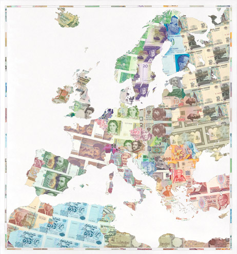 map old europe Weapons of War Made out of Money