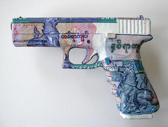 myanmar Weapons of War Made out of Money