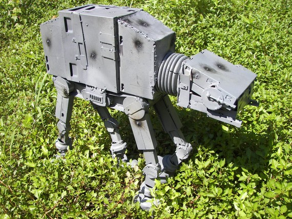 recycled Star Wars vehicles
