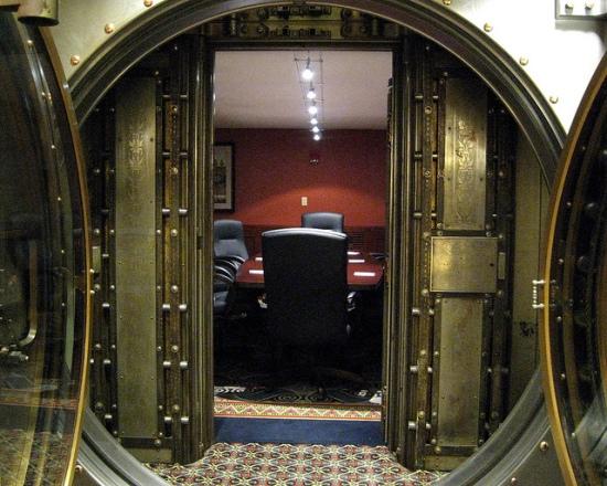 Board Room — Baltimore repurposed bank vaults - Ten Incredible Repurposed Bank Vaults RecycleNation