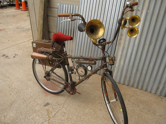 Ten Incredible Steampunk Bicycles | RecycleNation