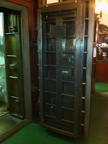 repurposed bank vaults