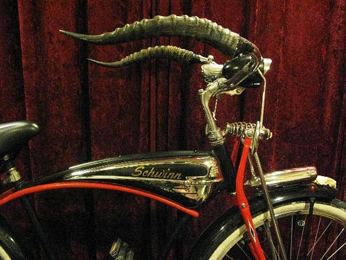 recycled steampunk bicycle