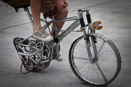 recycled bike mods