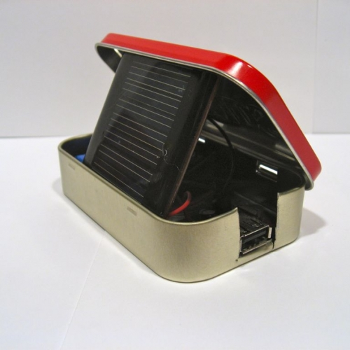 recycle altoids solar usb charger