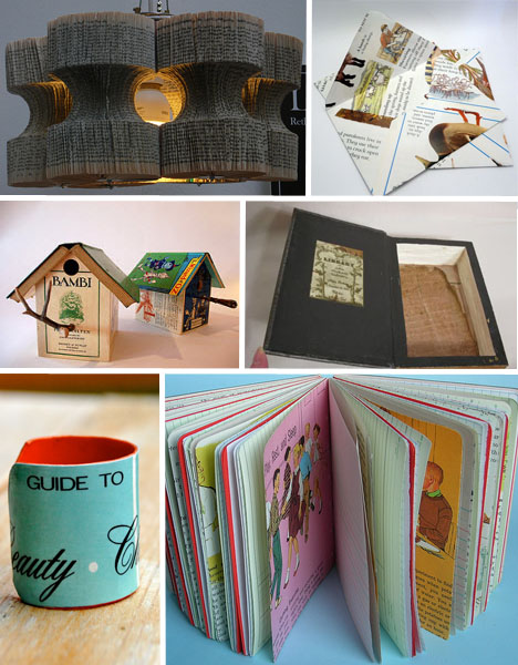 reusing old books