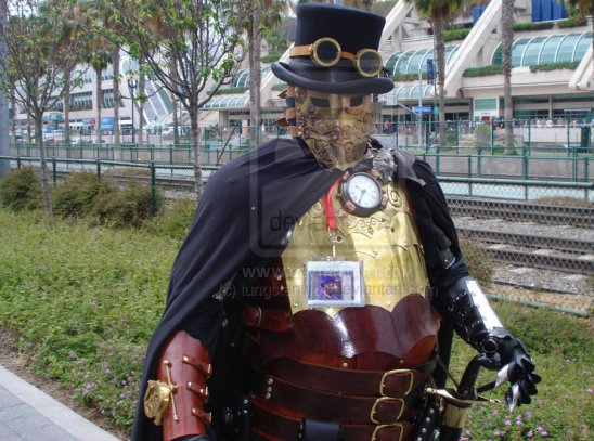 Ten Incredible Suits of Steampunk Armor | RecycleNation