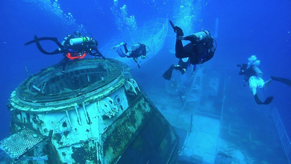 WW2 Shipwrecks http://1800recycling.com/2011/09/wwii-shipwreck-recycling-underwater-art-gallery/