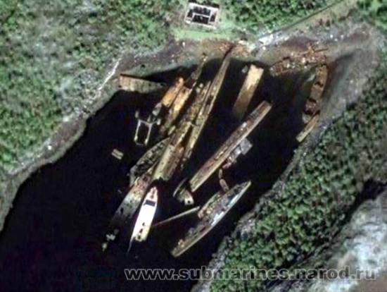 The Cold War Submarine Graveyard of Russia's Kola Peninsula