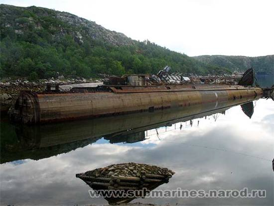 submarine recycling graveyard