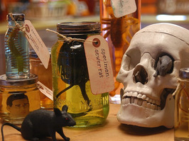 recycled specimen jar Make Your Own Recycled Halloween Crafts