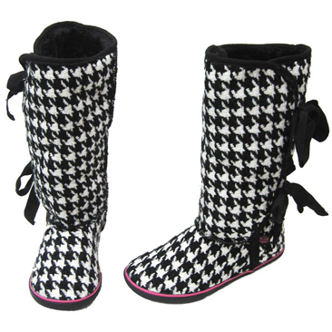 Morigami Houdstooth boot