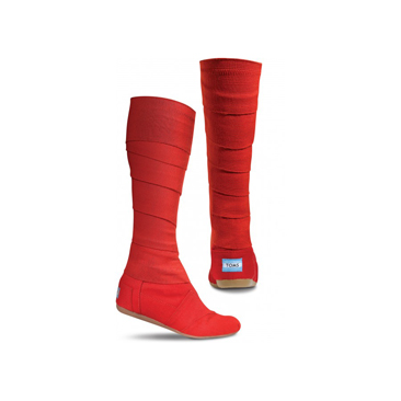 TOMS Red Wrap boot