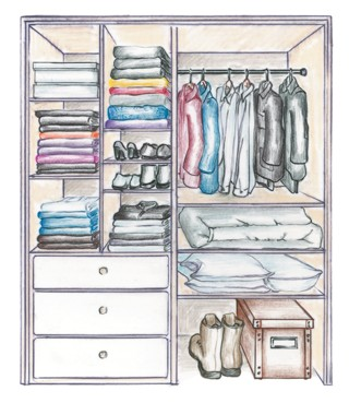 closet item recycling