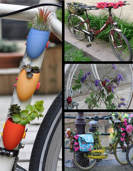 bicycle gardens recycling
