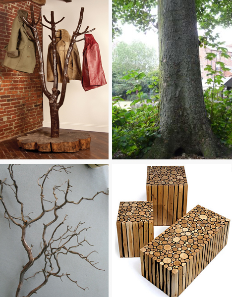 recycled branches