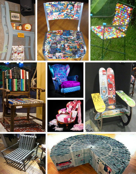 50 Totally Funky Recycled Chair Ideas Recyclenation