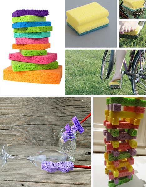 recycle sponges
