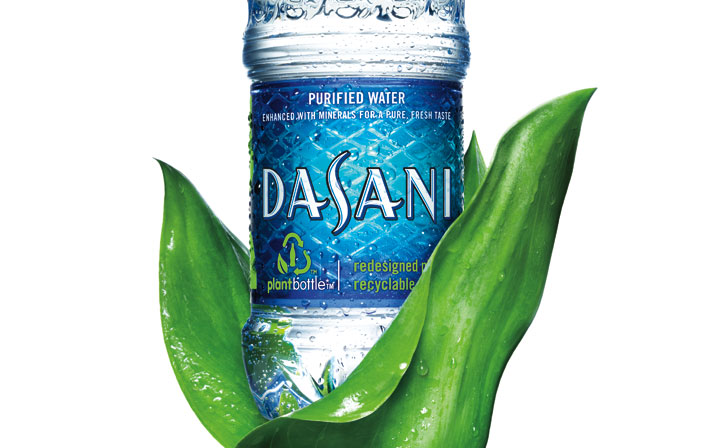 Dasani recycled PlantBottle