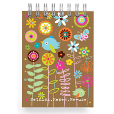 garden reuse notebook
