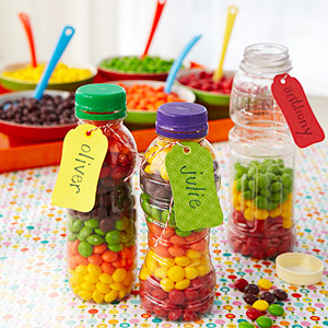 Plastic Container Party Favor