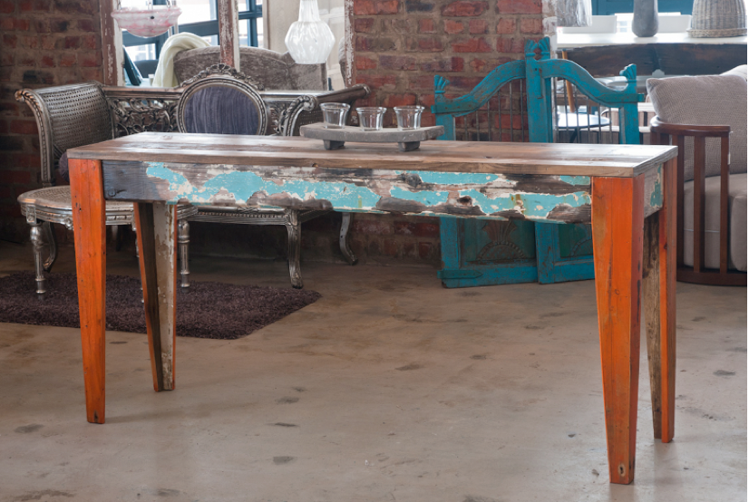 Shipwreck Furniture recycled table 2 Shipwreck Furnitures Nic Kruger: Upcycling Lost Sea Vessels