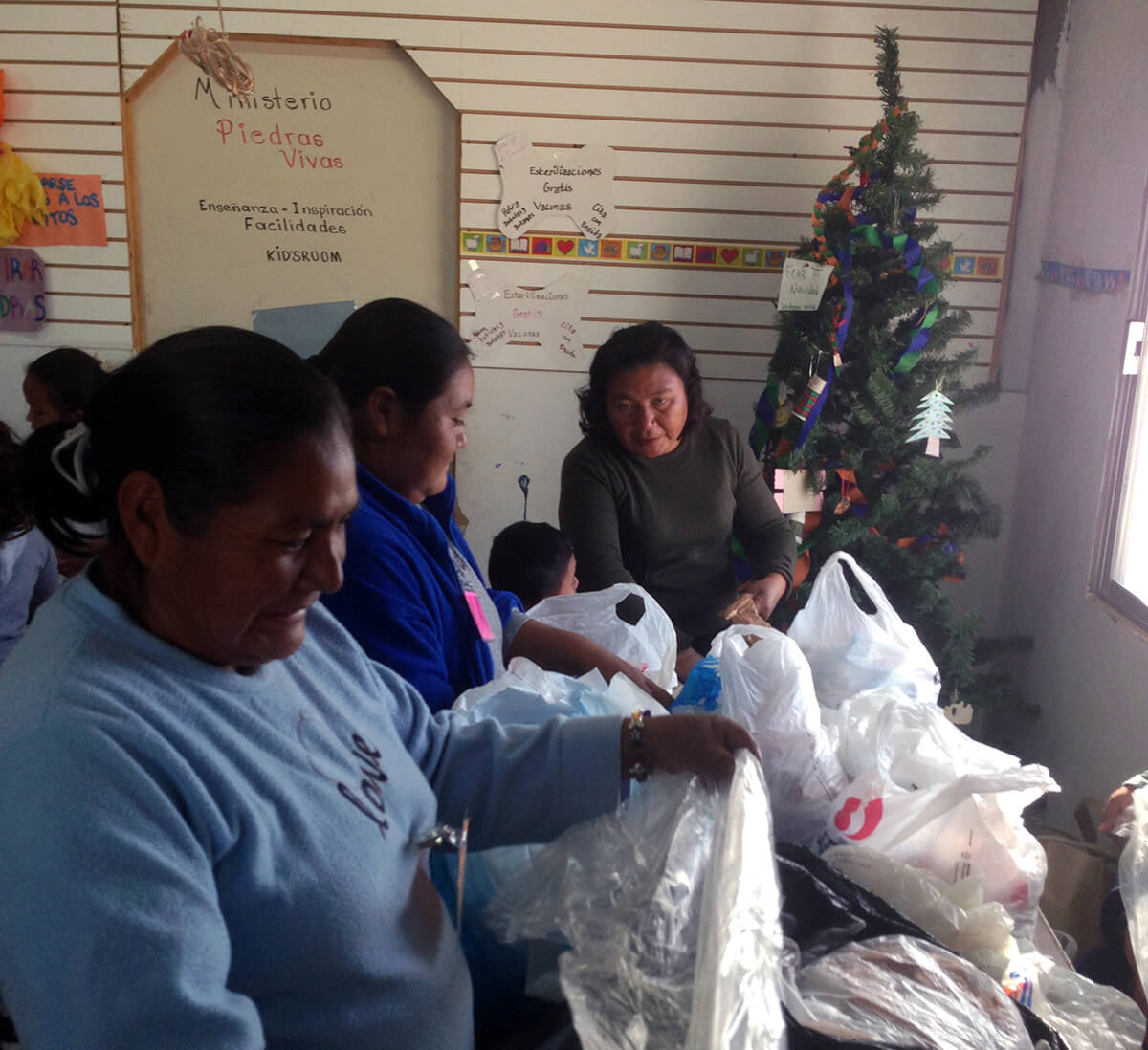 Mexico bag recycling sorting