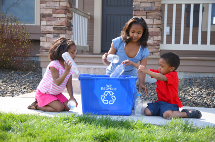 family curbside recycling