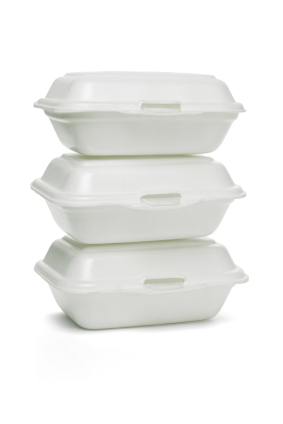 recycling takeout containers