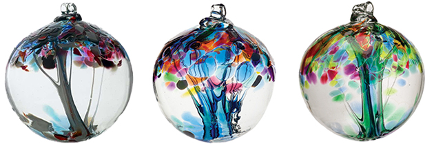 Recycled Glass Tree Globes Make Beautiful Decorations Recyclenation