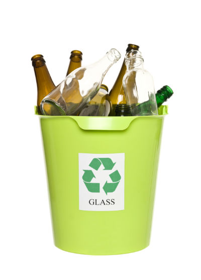 Image result for separate out your glasses from recyclables