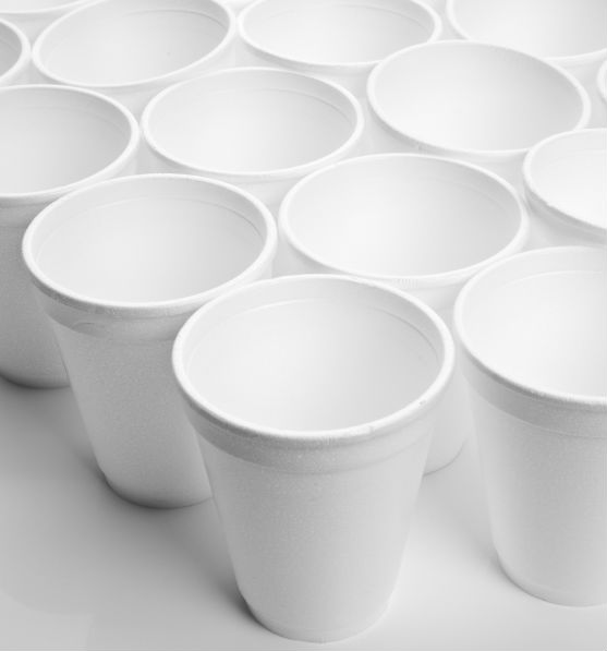 how to make a round paper cup