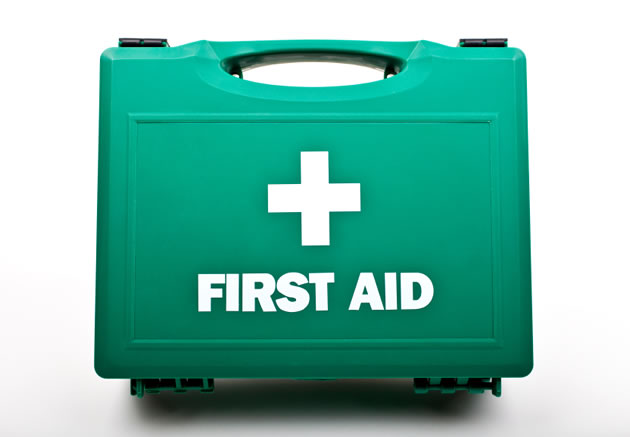 green-first-aid-kit
