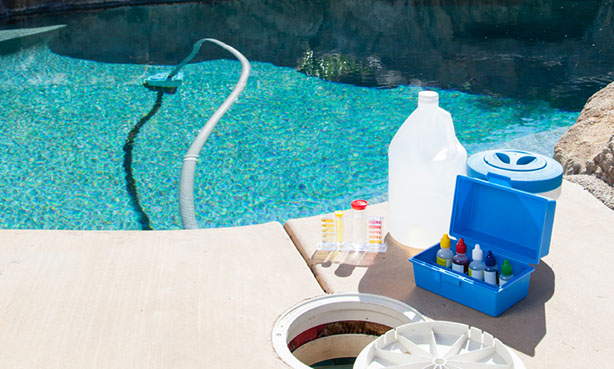How to recycle swimming pool chemicals recyclenation for Chemicals needed to close swimming pool