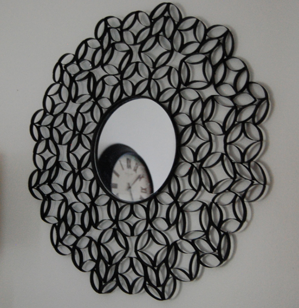 Recycled toilet paper tube art recyclenation for Recycling toilet paper tubes