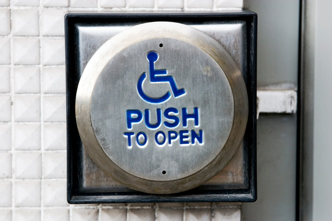 handicap buttons.jpg & Unnecessary Use of Automatic Door Openers: How Much Energy is Wasted ...