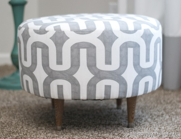 This Ottoman Looks Pretty Classy And Commonplace. But Inside Is Actually A  Reused Cable Spool. Some Fabric And Batting Made The Old Spool Into A  Central ...
