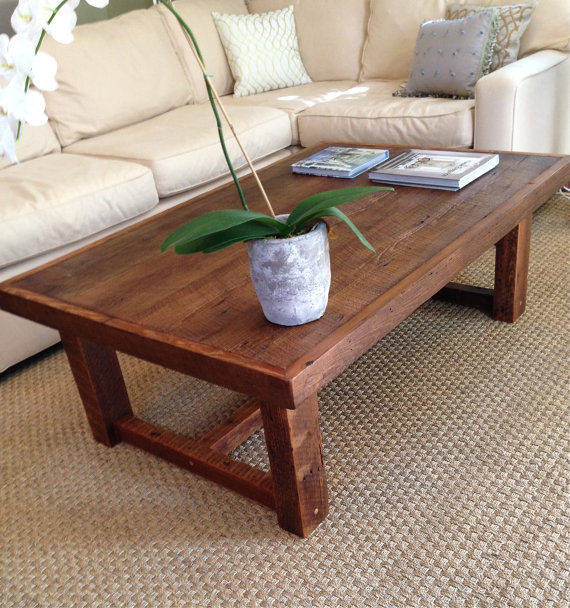 This Classic, Sensible Coffee Table Was Actually Made From Reclaimed New  Orleans Wood. This Understated Piece Would Work In Almost Any Décor Style.