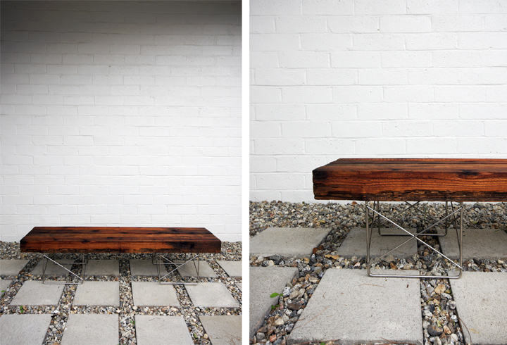 reclaimed wood bench 20 pieces of furniture made from recyclables